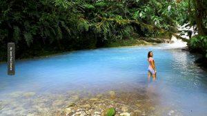 blue nimf - Blue Falls of Costa Rica