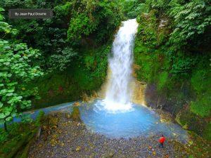 Cascadas Azules de Costa Rica