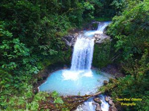 blue waterfalls - Blue Falls of Costa Rica