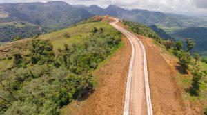 new road valley bajos del toro