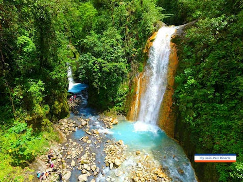 Blue Falls of Costa Rica - Lss Gemelas