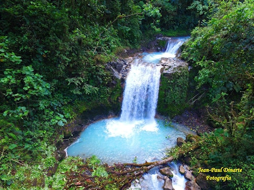 La Celestial - Blue Falls of Costa Rica