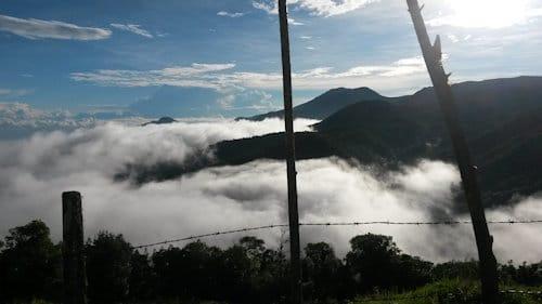 clouds valley bajos del toro